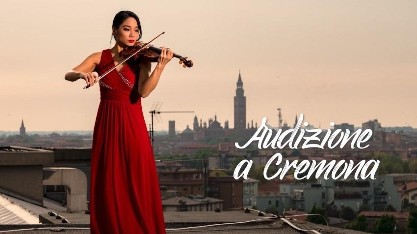 横山玲奈さんのヴァイオリン